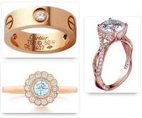 Rose Gold Engagement Rings - Rose means Love!