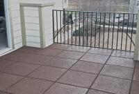 DeckTop Architectural Tile - Rubber Deck Tiles- Diamond ...