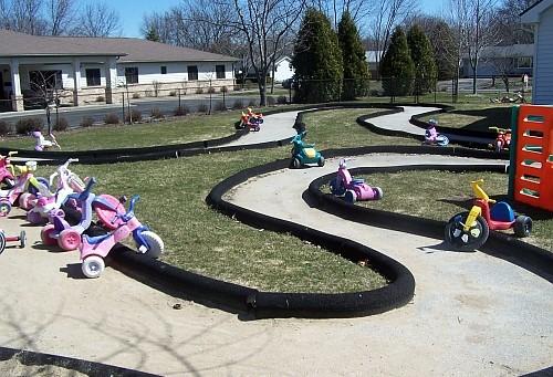 rubberflex curbs - rubber playground