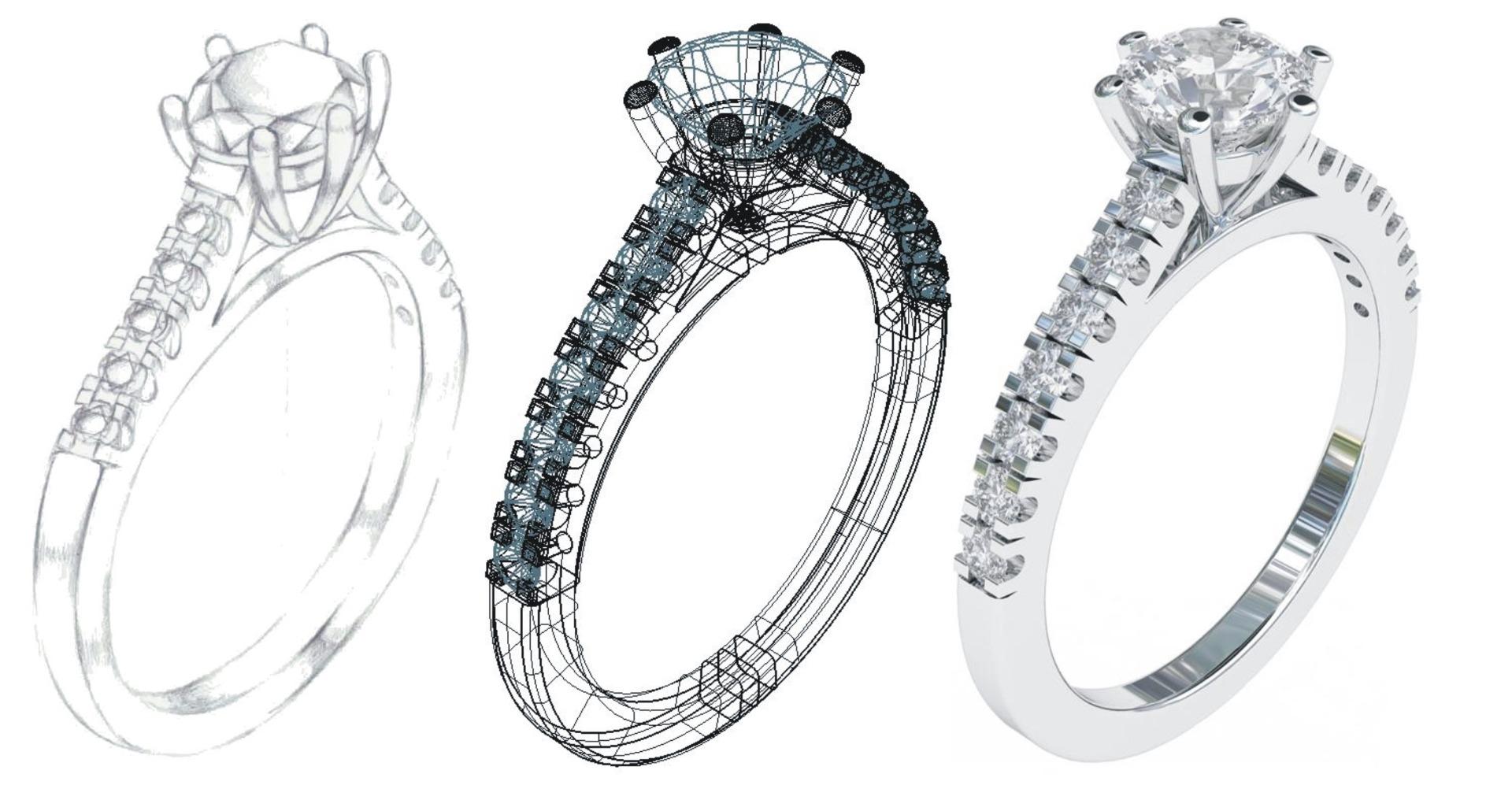 Exclusive diamond wedding rings from Aurus