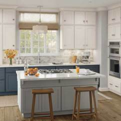 Best Off White Color For Kitchen Cabinets Rooms To Go Tables Diamond At Lowe's