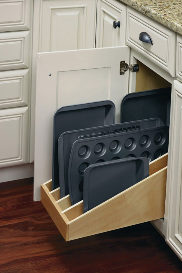 kitchen cabinet organizer moen high arc faucet diamond at lowes - organization and specialty products ...
