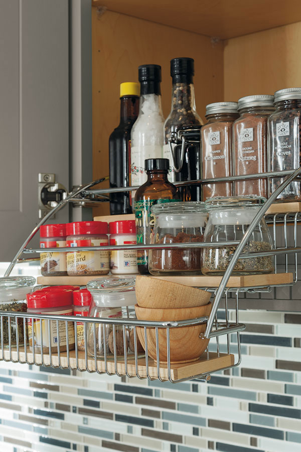 Diamond at Lowes  Organization and Specialty Products  Pull Down Spice Rack