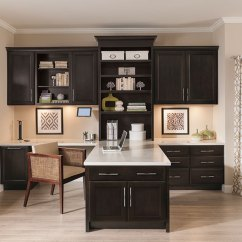 Chocolate Kitchen Cabinets Glass Tables And Chairs Diamond At Lowes - Barton Cherry