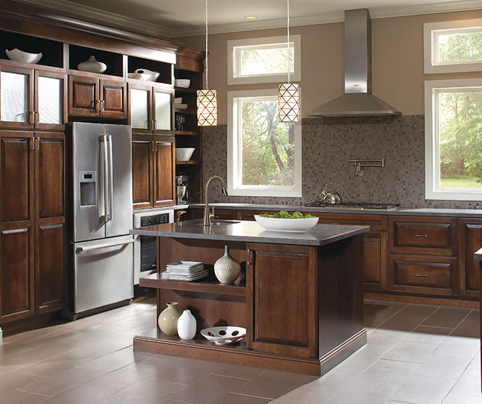 kitchen organization products inside cabinet storage diamond at lowes - find your style caldwell maple coffee ...