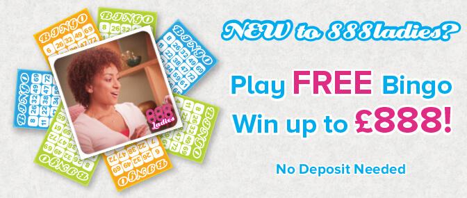 Play FREE Bingo - Win Up To £888!