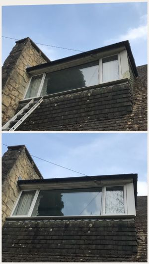 Another Window Cleaned, Has very bad uPVC on side of window