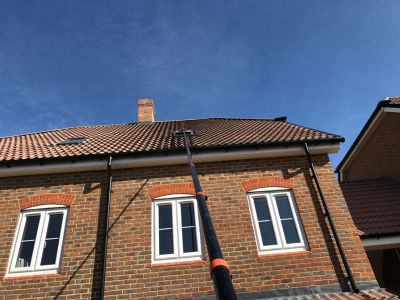 Nearly 55ft Velux Window Clean