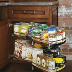 Kitchen Organization Products Cheap Islands Diamond Cabinets Base Corner Cabinet With Curved Pull Out