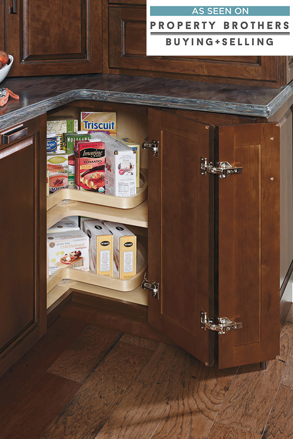 kitchen cabinet design tool bronze hardware base super lazy susan - diamond cabinetry
