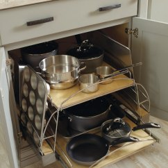 Kitchen Base Cabinet Pull Outs Sink Combo Pots And Pans Pull-out - Diamond Cabinetry