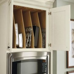 All Wood Kitchen Cabinets Rail System Oven Cabinet Tray Divider - Diamond Cabinetry