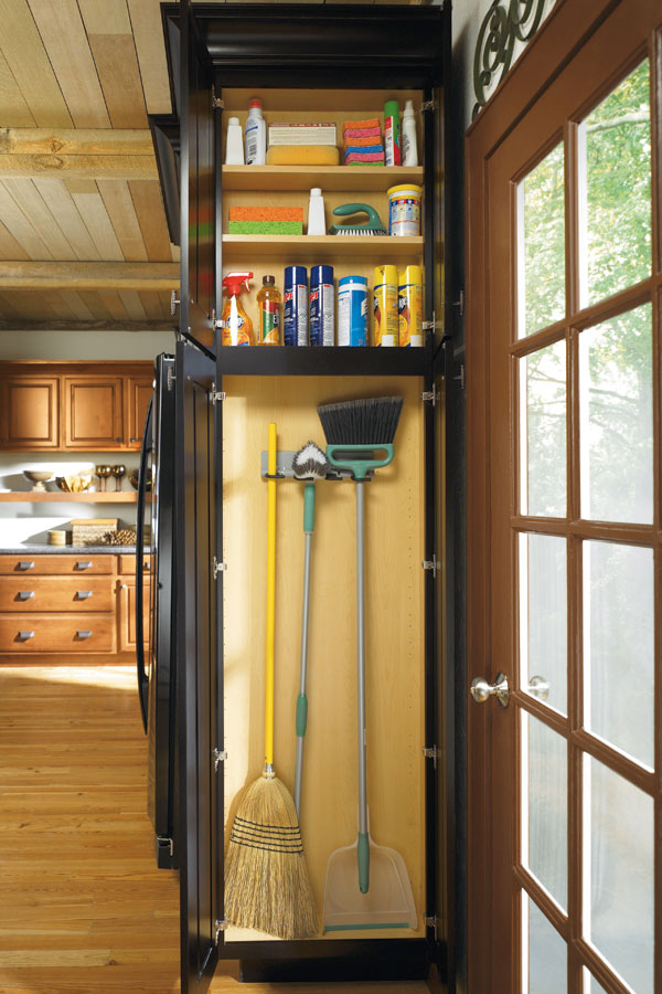 kitchen cabinet organization delta sink faucets utility organizer - diamond cabinetry