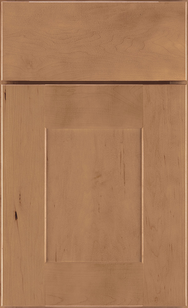 rustic hickory kitchen cabinets kohler coralais faucet sahara cabinet finish on maple - diamond cabinetry