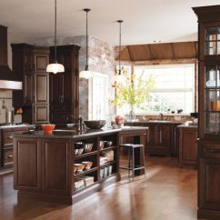 Kitchen Cabinets Color Solid Rugs Cabinet Inspiration Gallery Photo Diamond Dark Cherry By Cabinetry