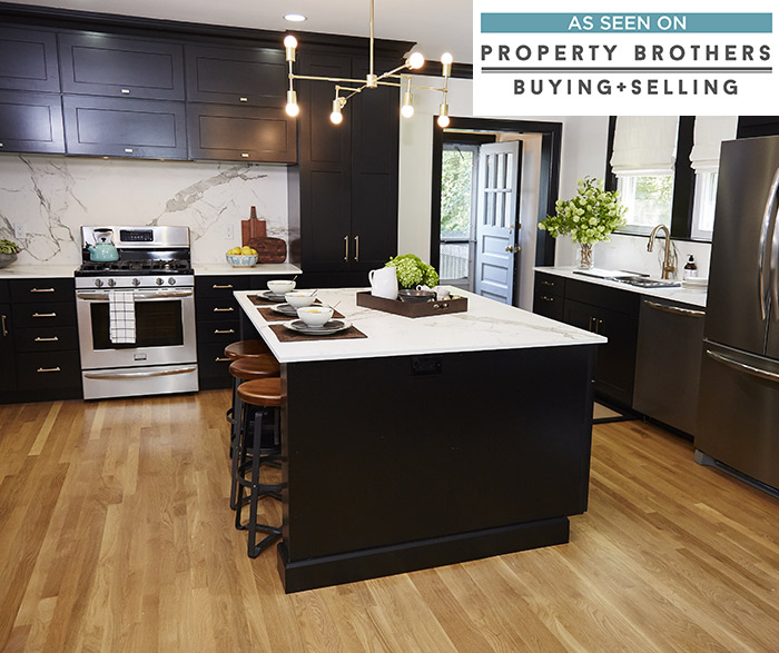 kitchen black cabinets triple sink diamond cabinetry breman