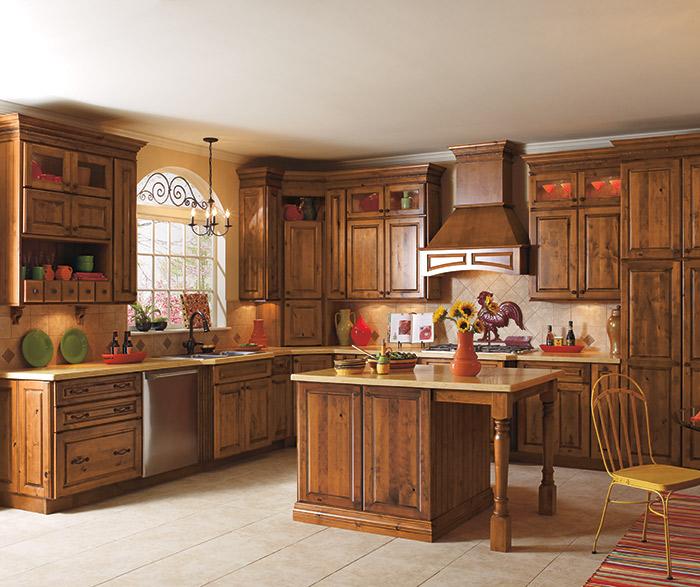 alder kitchen cabinets redo countertops rustic diamond cabinetry carson in whiskey black finish