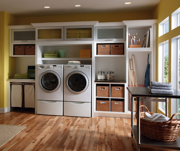 White Laundry Room Cabinets Diamond Cabinets