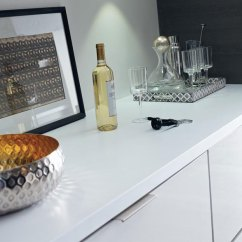 Kitchen Island Back Panel Remodeling On A Budget Contemporary Laminate Cabinets - Diamond