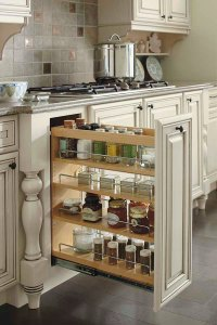 Base Pantry Pull Out Cabinet - Diamond Cabinetry
