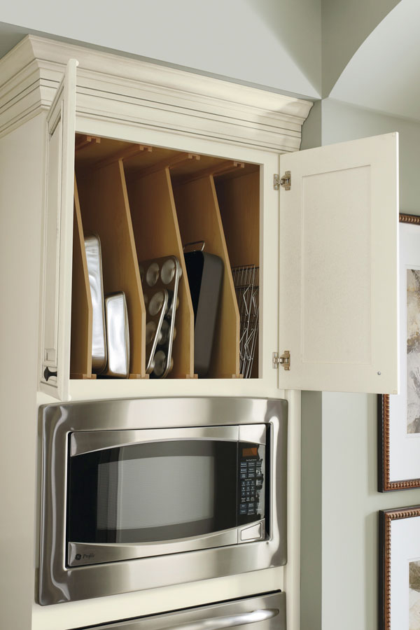 Oven Cabinet Tray Divider  Diamond Cabinetry