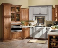 Alder Kitchen Cabinets - Diamond Cabinetry