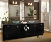 Contemporary Cabinets in Maple - Diamond Cabinetry