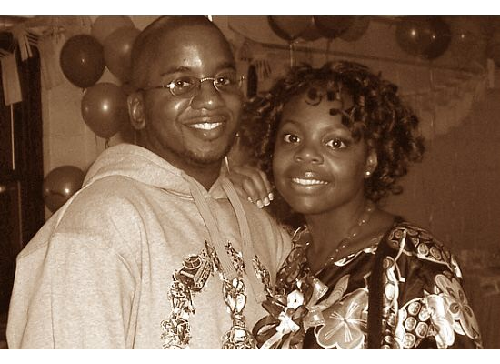 Melissa and Rodney High School Sweet Hearts