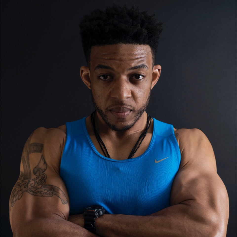 Drufit posing in a professional photo