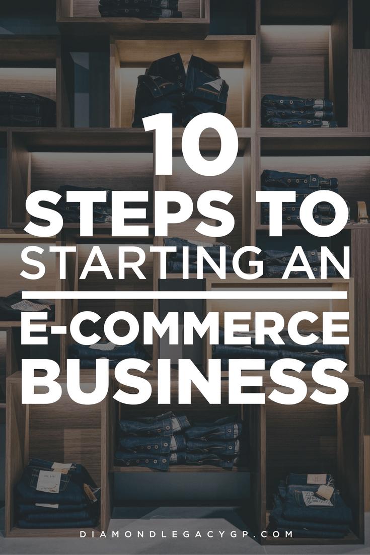 Starting an E-commerce Business