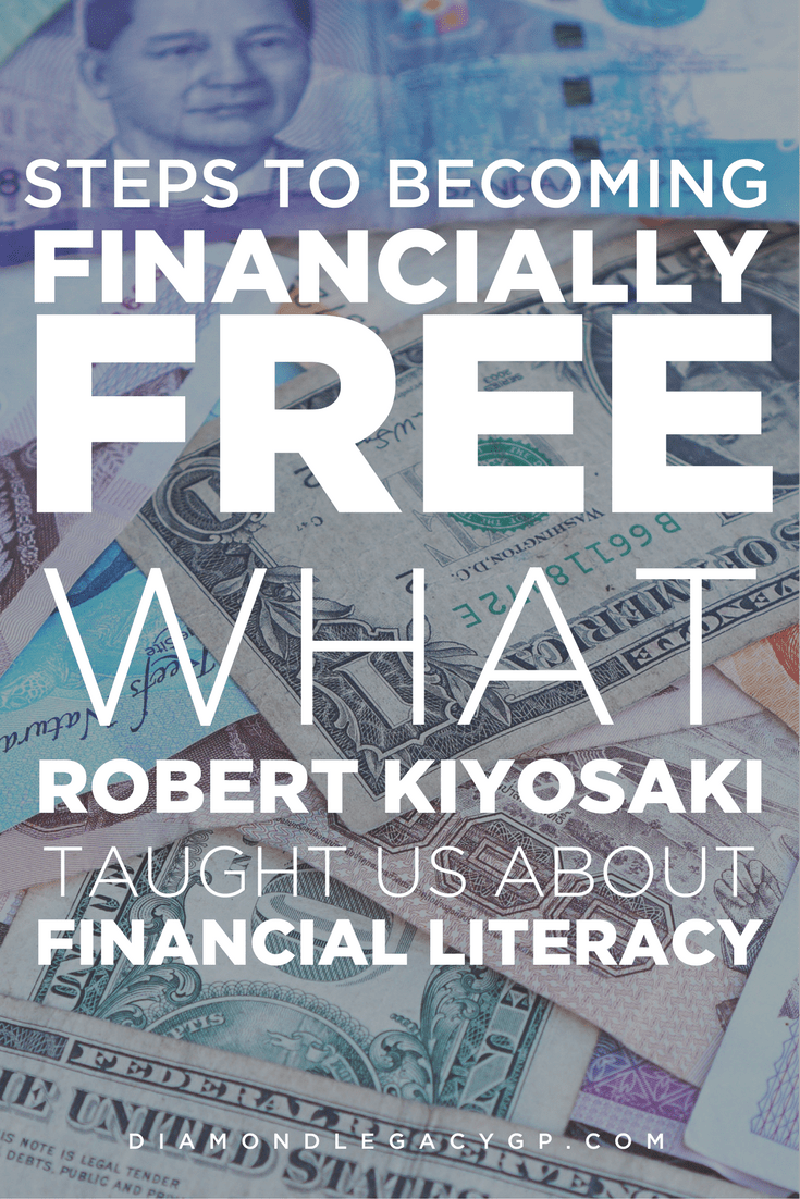 Steps to becoming financially Free (WHAT Robert Kiyosaki, taught us about Financial Literacy)