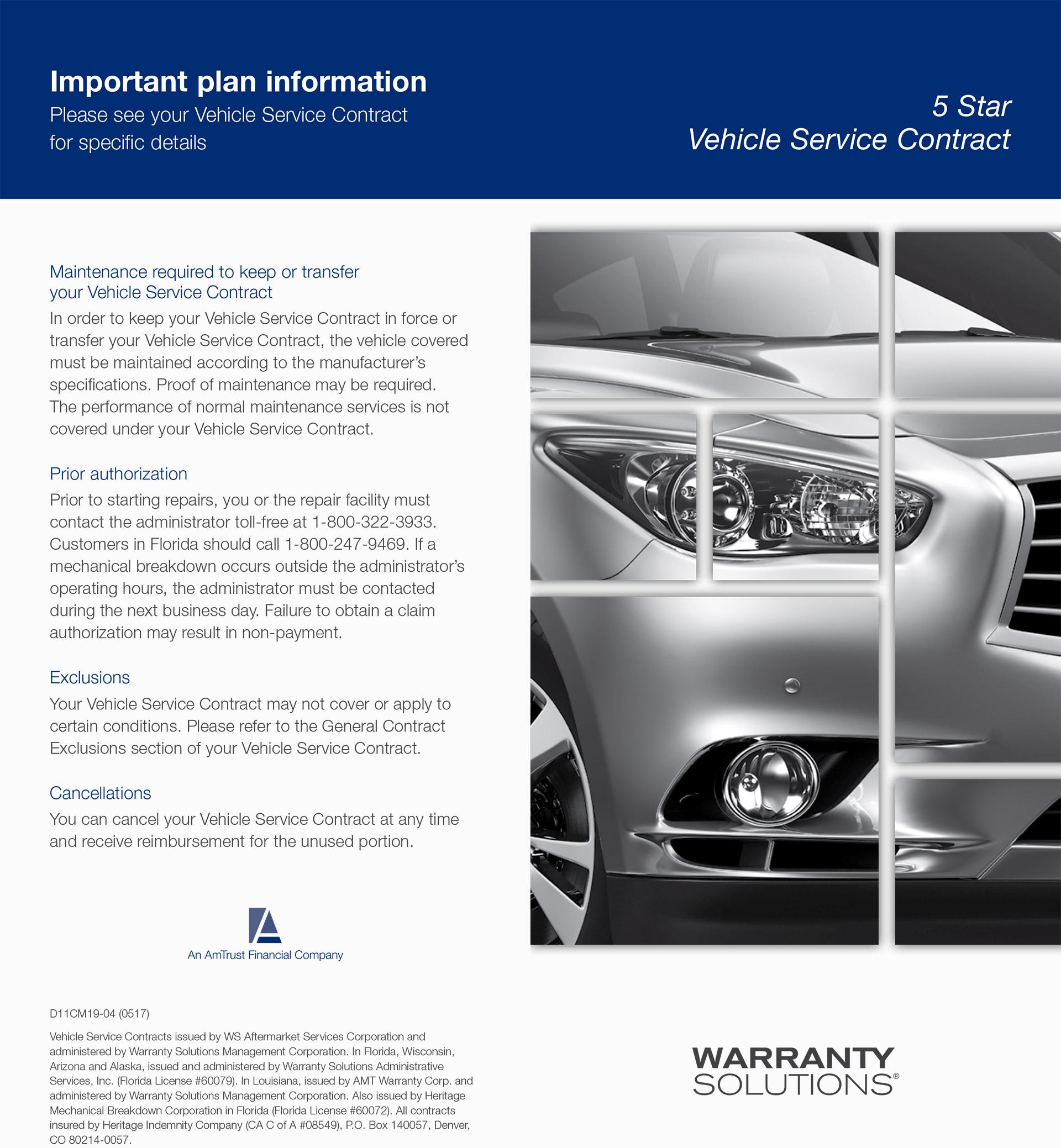 Warranty | Diamond Motorworks