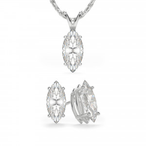 Four-Piece Marquise Cut Set