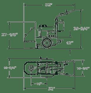 CPG100 SINGLE HEAD FLOOR GRINDER