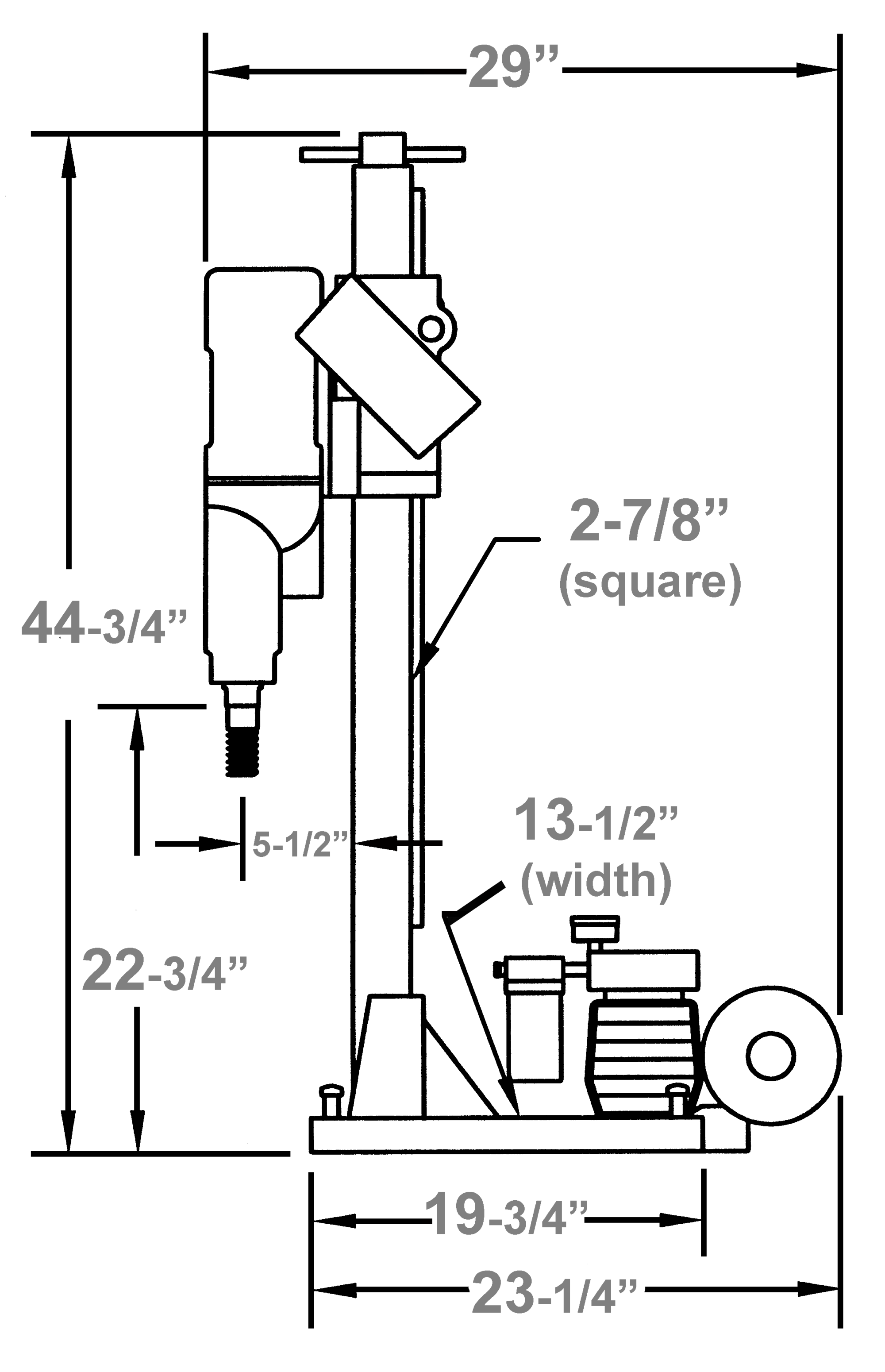 hight resolution of  m 1 combination location to drill anchor hole 12 1 2