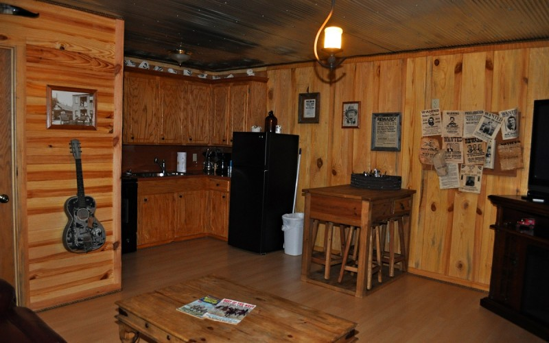 The Bank Cabin at Diamonds Old West CabinsDiamonds Old