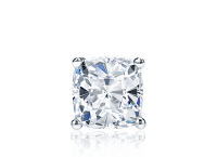 Single Cushion Cut Diamond Stud Earrings
