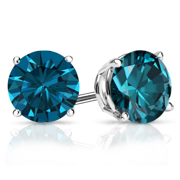 1 Carat Diamond Stud Earrings - Diamondstuds
