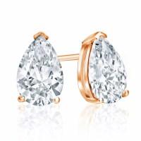 1 Carat Diamond Stud Earrings - DiamondStuds ...