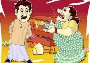 Image result for கணவன் மனைவி ஜோக்ஸ்