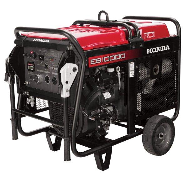 Diamond Tool Honda Eb10000ah Portable 10 000w Gas Generator - 9000w Rated