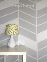 Painter's Tape Wall Design | Diamond Vogel