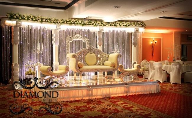 Swarovski Crystal Wall Diamond Weddings