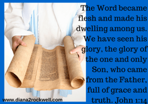 The Word became flesh and made his