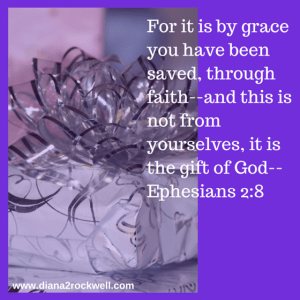 For it is by grace you have been saved,