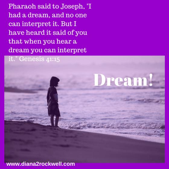 Pharaoh said to Joseph, -I had a dream,