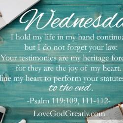 Psalm 119 W5D3