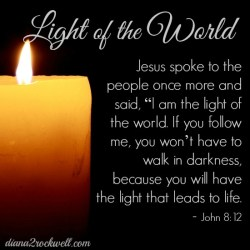 He Gives Light to the World
