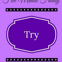 Just Try!