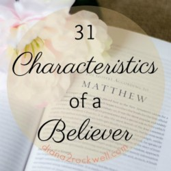 Introduction to 31 Characteristics of a Believer